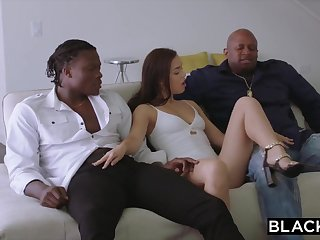BLACKED 2 Teenagers Acquire Creampied By Zooid Ebony Prick