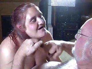 Grandpa and granny still very hot lovers