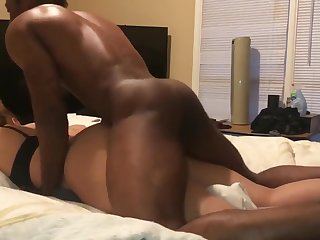 Rear Riding Balls Deep She Came Hard