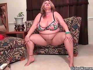 An older woman means fun attaching 105
