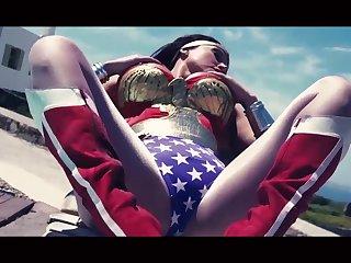 Wonder Woman Hot Cosplay Just