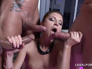 Gina Gerson - Assfucked In Stripclub - HARDCORE MOVIE