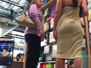 Bubble Butt Showoff approximately a Unceremonious Skirt (VPL)