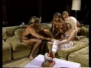 Vintage group sex scene