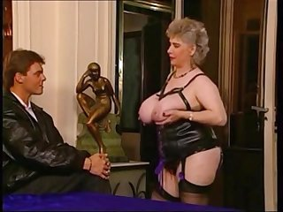 Naughty big granny hardcore porn scene - retro photograph