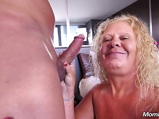Large circa inept blondie mommy Lila - Granny Porn