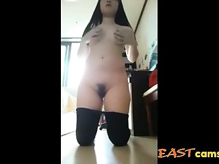 Cute Korean Girl show her hot body 05
