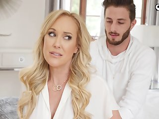 Shapely MILF stepmom wants more than just a massage from her stepson