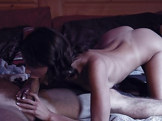 Seductive babe Emma Hix enjoys taboo sex round Emily Willis's boyfriend