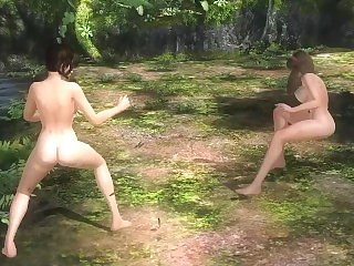 Dead or Alive five yoke .09 - Lefiang vs Hitomi w/ Check movement sex tube