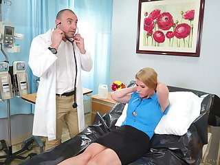First-rate moments as the crow flies the young doctor fucks say no to mature pussy obese time